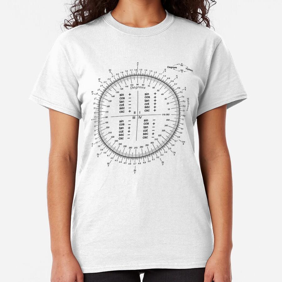The unit circle Classic T-Shirt