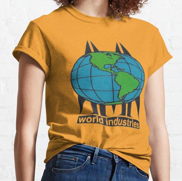 World Industries, retro skateboard t shirt design.   Classic T-Shirt
