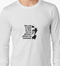 woody allen quote Long Sleeve T-Shirt