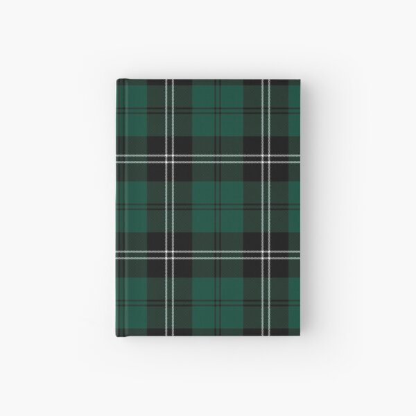 Ramsay Moss Green Tartan | Clan Ramsay | Cute Tartan Hardcover Journal