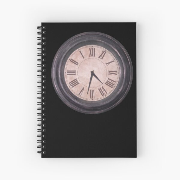 Running Out Of Time Spiral Notebook