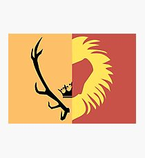 Game of Thrones - House Baratheon of King's Landing Photographic Print