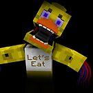 Fünf Nächte bei Freddy - Minecraft Chica 2 von kijkopdeklok