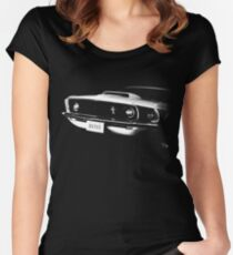 mustang 1969 Women's Fitted Scoop T-Shirt
