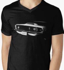 mustang 1969 Men's V-Neck T-Shirt
