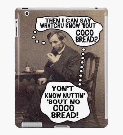 Coco Bread: Presidential Deal Sealer iPad Case/Skin