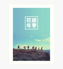BTS + RUN #2 Art Print