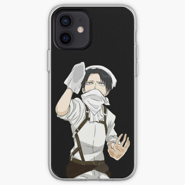 Cleaning Levi - Attack on Titan iPhone Soft Case