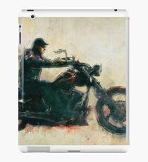 Motorcycle Rider  iPad Case/Skin