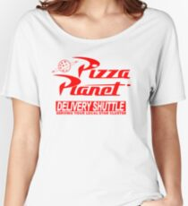 Pizza Planet Delivery Shirt Women's Relaxed Fit T-Shirt