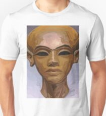 'Heretic King' - Watercolor Akhenaton Bust Unisex T-Shirt