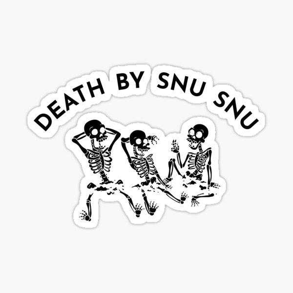 mort par snu snu Sticker
