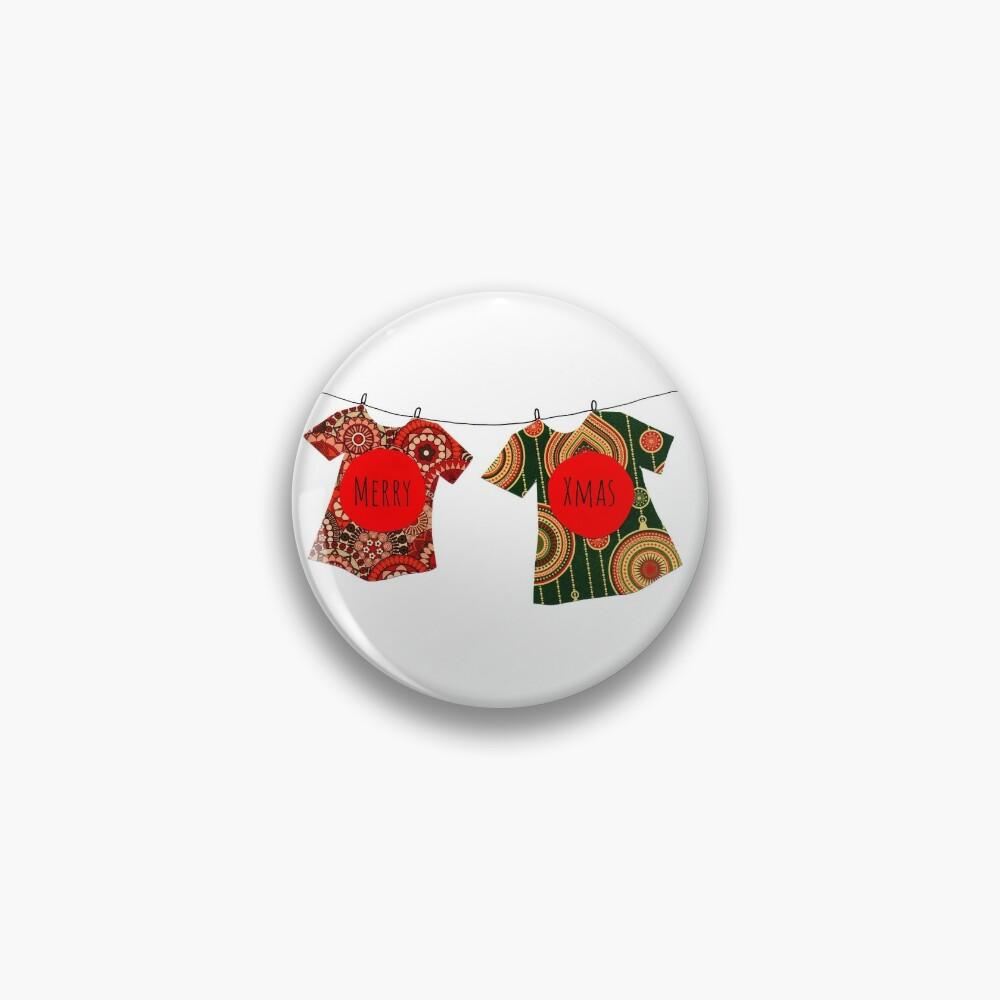 Merry Xmas T-shirts Pin