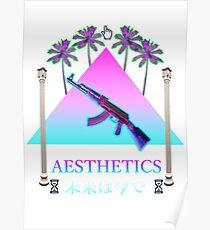 Aesthetics Ak-47 Pyramid Poster