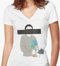Love is Dead Women's Fitted V-Neck T-Shirt