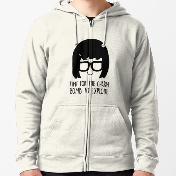 time for the charm grass bob's burgers cast witch please Zipped Hoodie