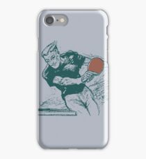 Ping pong, retro vector expressionist iPhone Case/Skin