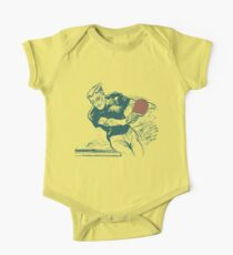 Ping pong, retro vector expressionist Kids Clothes