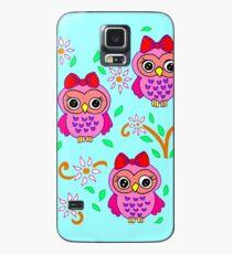 Funda/vinilo para Samsung Galaxy cute little owls