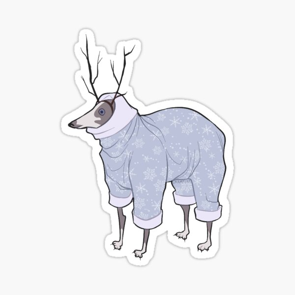 Deer? Dog? Sticker