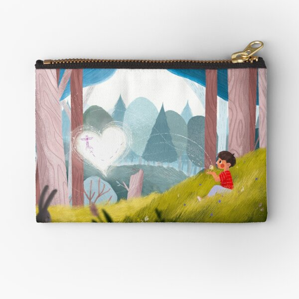 Kitchi: The Spirit Fox - The Journey Zipper Pouch