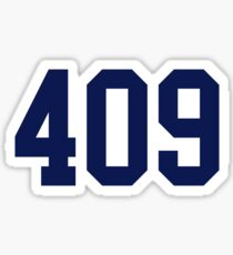 navy 409 Sticker