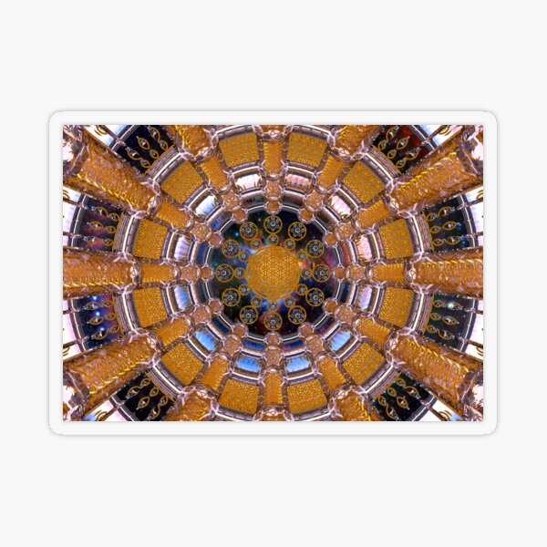 EpiGen DNA Healing Room Transparent Sticker
