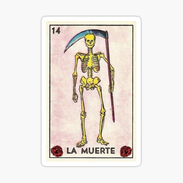 La muerte Sticker