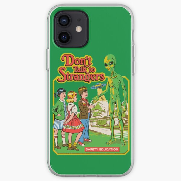 DON'T TALK TO STRANGERS iPhone Soft Case