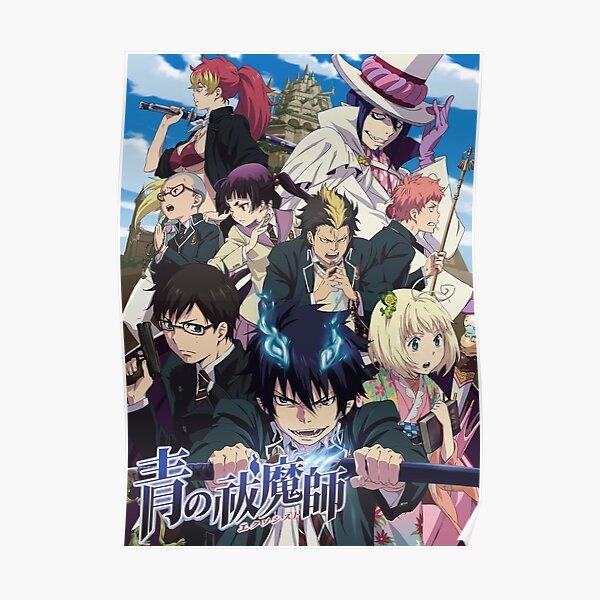 The Ao No  Blue Anime New Poster