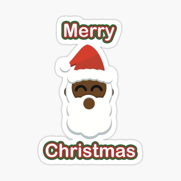 Merry Christmas - Santa Claus Sticker