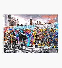 'Graffiti Street' - Abstract Graffiti Art Photographic Print