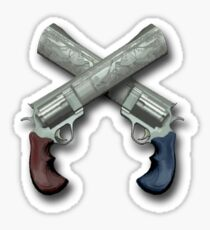 Team Fortress 2 Dueling Mini Game Sticker Sticker
