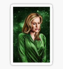 Hannibal - Bedelia Du Maurier Galaxy Print Sticker