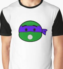 Emoji Donatello - Surprise Graphic T-Shirt