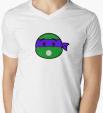 Emoji Donatello - Surprise Mens V-Neck T-Shirt