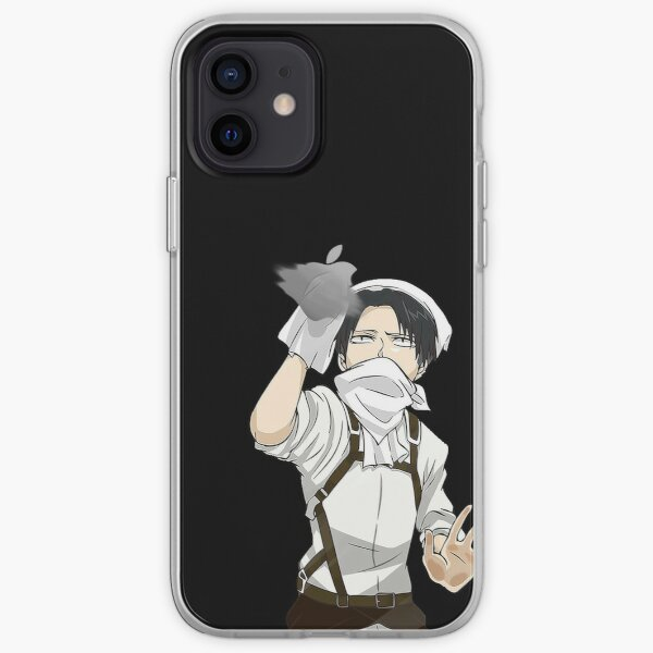 Attack on Titan - Cleaning Levi  iPhone Soft Case