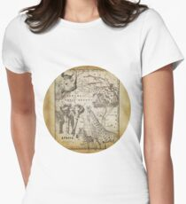 Vintage Africa Women's Fitted T-Shirt