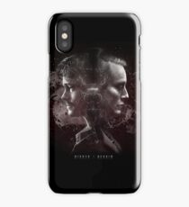 Hannibal Lecter and Will Graham - Mirror iPhone Case
