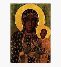Black Madonna of Czestochowa Poland, Our Lady of Czestochowa, Madonna and Child, Virgin Mary Photographic Print