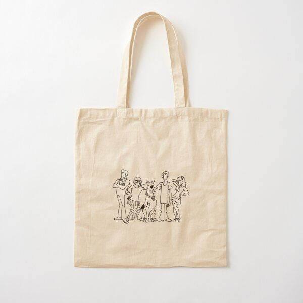 The Mystery Gang 2 Cotton Tote Bag