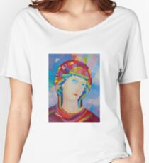 Madonna Virgina Maria icon Women's Relaxed Fit T-Shirt