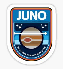 JUNO New Frontiers Logo Sticker