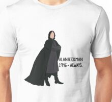 Snape - Tribute to Alan Rickman Unisex T-Shirt