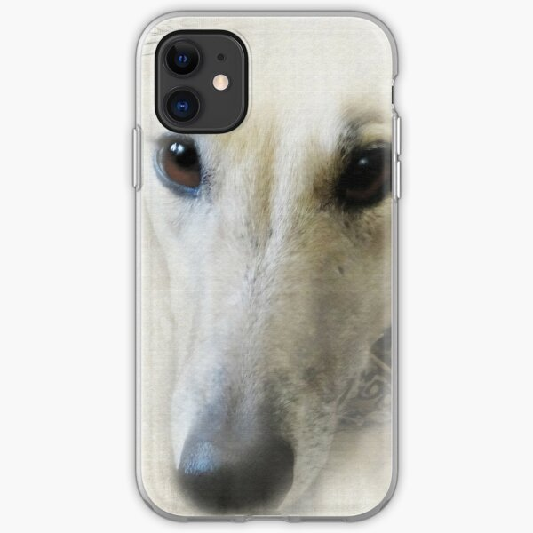 The eyes of a greyhound iPhone Soft Case