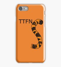 ttfn iPhone Case/Skin