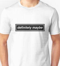 "Oasis Logo Inspired ""Definitely Maybe"" Unisex T-Shirt"
