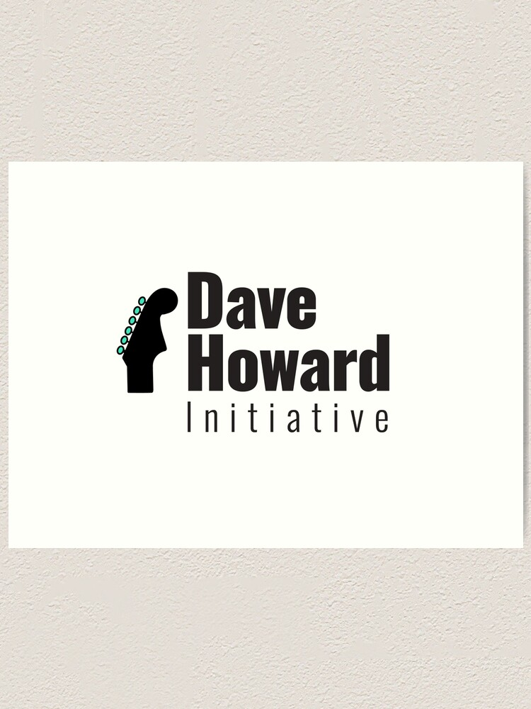 Alternate view of  David Howard Initiative Logo Wear! Art Print