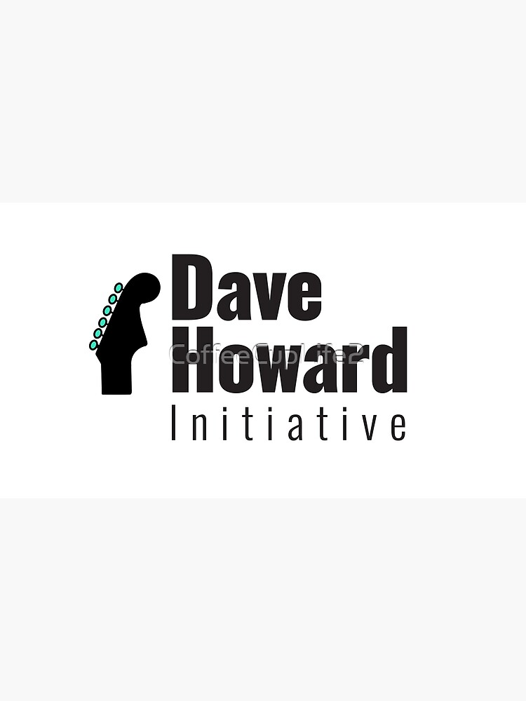 David Howard Initiative Logo Wear! by CoffeeCupLife2