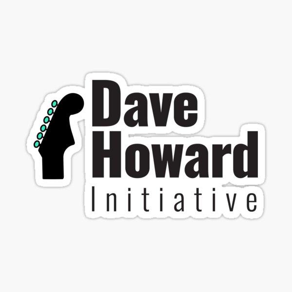 David Howard Initiative Logo Wear! Sticker